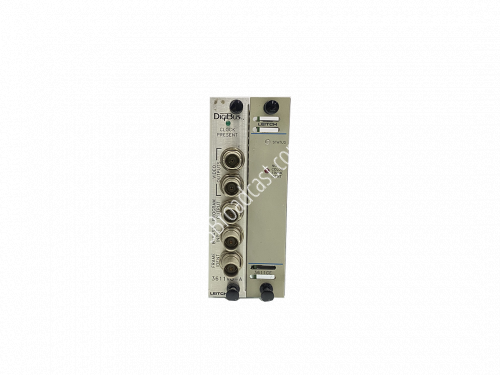 Leitch Digibus 3611CE with back module 3611-VO-A..