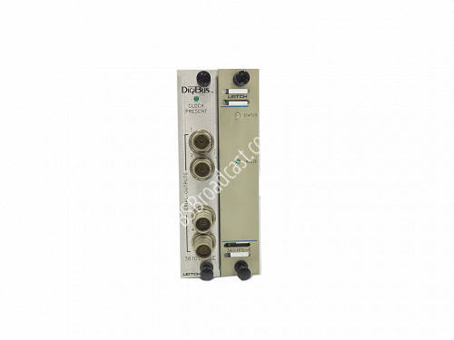 Leitch Digibus 3611FS-E with back module..