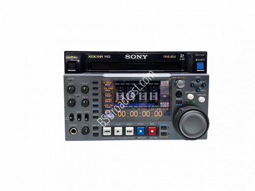 Sony PDW-F1600 XDCAM HD Player/Recorder op hours 1465 laser0 102 ..