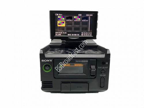 SONY PMW-RX50 Dual SxS PRO rugged, portable deck with Full HD XAV..