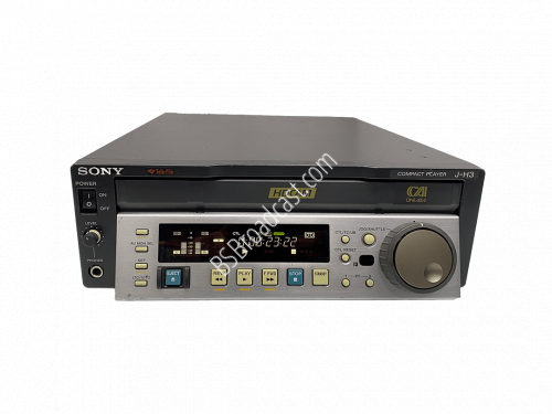 Sony J-H3 HDCAM compact Player with Digital/Analog HD/SD Playback..