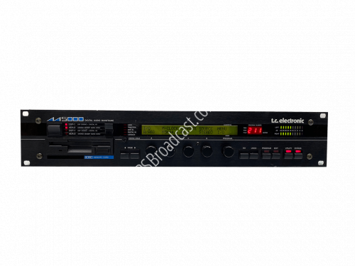 TC ELECTRONIC M5000 DIGITAL AUDIO MAINFRAME with two ADA-2 two DS..