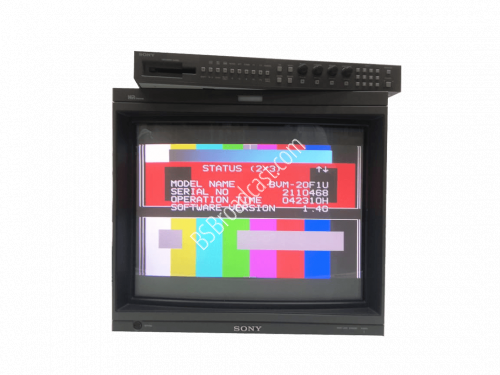 SONY BVM-20F1U with BKM-20D, Analoge cards and the remote BKM-10R..